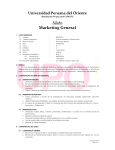 Marketing general - Sistema de Acceso UPO