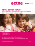 Aetna Better Health Manual del Miembro de CHIP / de CHIP
