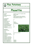 Plasettie - Plas Potatoes