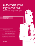 B-learning para ingeniería civil