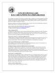 city of crystal lake h1n1 virus (swine flu) preparedness