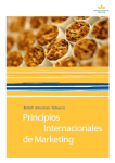 International Marketing Principles