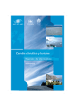 Cambio climático y turismo - Sustainable Development of Tourism