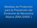 Protective Measures For Prevention Of SARS Infection