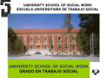 Social Work degree - University of the Basque Country