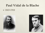 Paul Vidal de la Blache