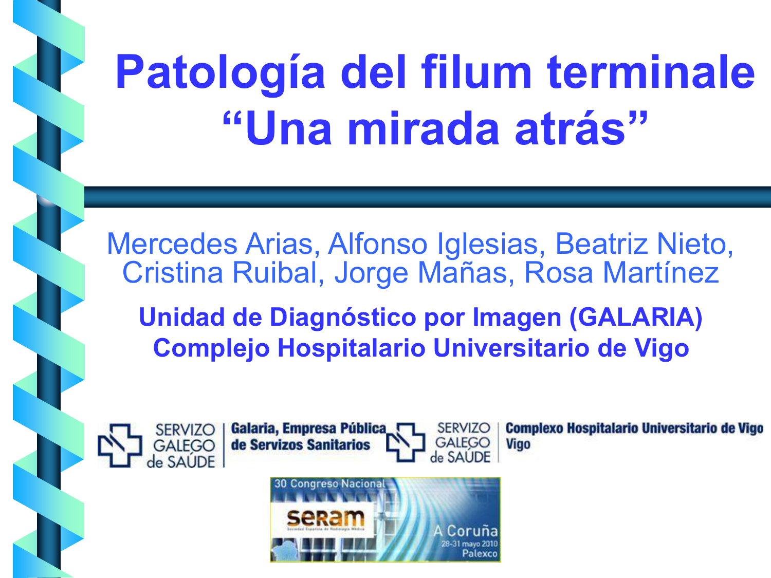 Patologia Del Filum Terminale The filum terminale is a small thin filament of connective tissue that extends inferiorly from the gross anatomy the filum terminale is continuous with the pia mater and is described as having two sec. aprenderly