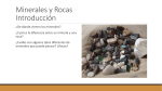 Minerals and Rocks Introduction