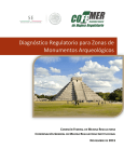 Diagnóstico Regulatorio para Zonas de Monumentos