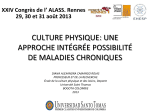culture physique