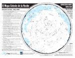 The Evening Sky Map - Area de Astronomía