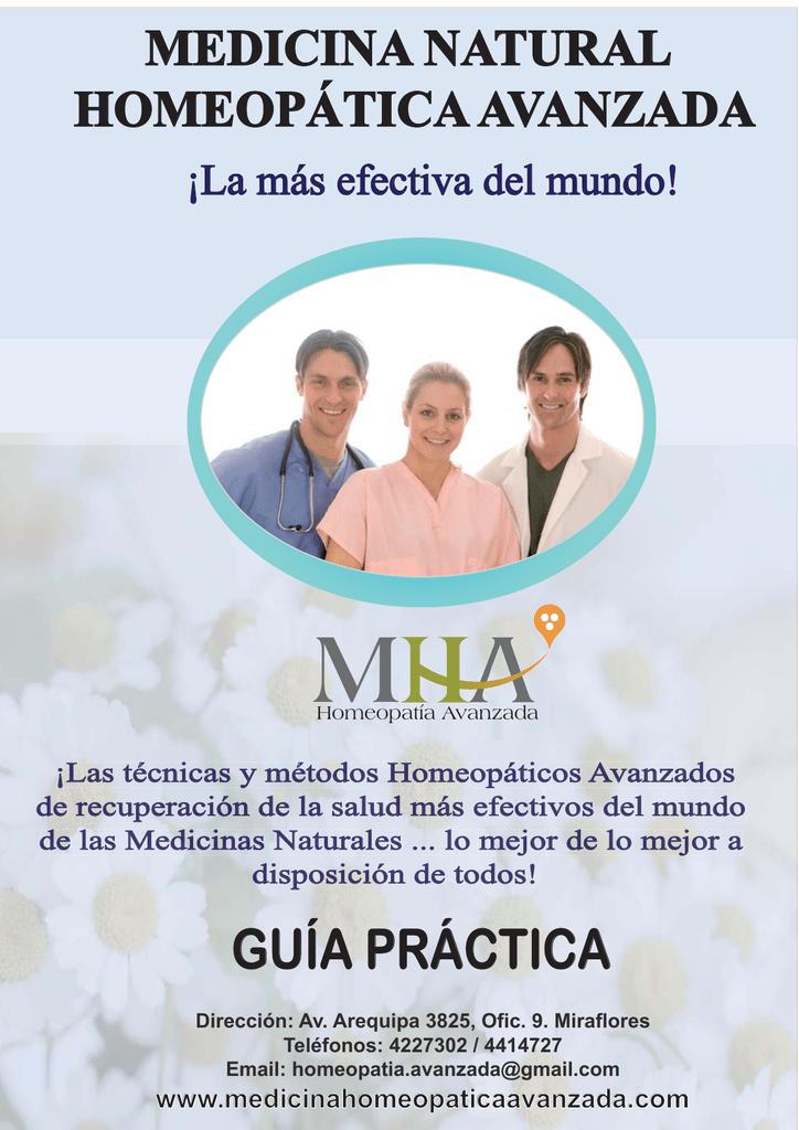 Presione Aquí Medicina Natural Homeopática Avanzada