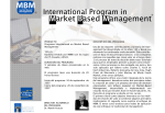Market Based Management MBM