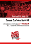 Carta convocatoria congreso