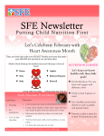 SFE Newsletter