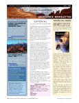 geoscience newsletter