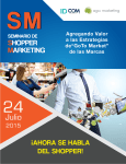 folleto seminario shopper marketing