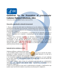 Guidelines for the Prevention of Intravascular Catheter