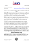 interoffice memorandum - The Agency For Health Care Administration