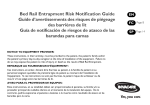 Bed Rail Entrapment Risk Notification Guide Guide d